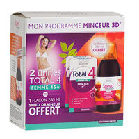 NUTREOV Total 4 Femme 45+ - Lot de 2 x 30 comprimés + Speed Draineur