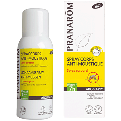 PRANAROM Aromapic Spray Corps Anti-Moustique Bio 75ml