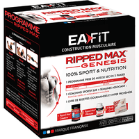 EAFIT Construction Musculaire Ripped Max Genesis Vanille 420g