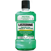 LISTERINE Bain Bouche Protection Dents Gencives 500ml PROMO -1€