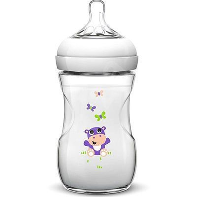 AVENT Natural Biberon Hippopotame 260ml