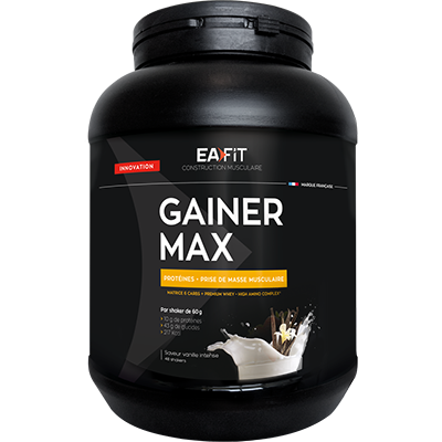 CONSTRUCTION MUSCULAIRE - Gainer Max Vanille - 1,1 kg