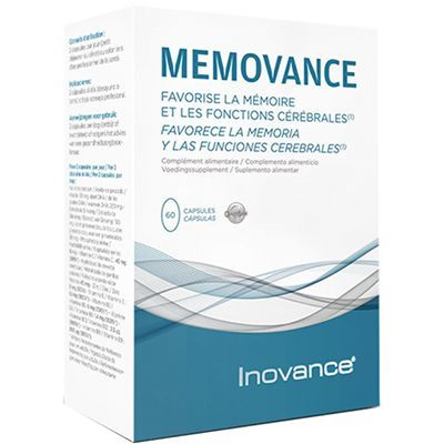 INOVANCE Mémovance 60 capsules