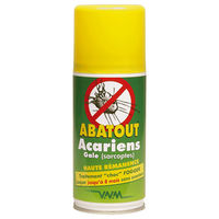 ABATOUT Fogger Laque Anti-Acariens & Gale 210ml