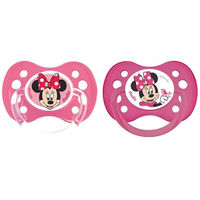 DODIE Disney Baby 2 Sucettes Anatomiques Silicone +6Mois