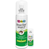 PEDIAKID Bouclier Insect 100ml + Bouclier Insect 20ml OFFERT