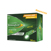 BEROCCA Boost 14 Sticks Goût Cola
