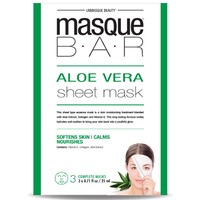 MASQUE BAR Feuille de Masque à l'Aloe Vera 3 masques complets