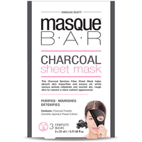 MASQUE BAR Masque Pelable au Charbon 3 masques complets