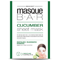 MASQUE BAR Feuille de Masque au Concombre 3 masques complets