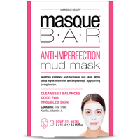 MASQUE BAR Masque de Boue Anti-Imperfections 3 masques complets