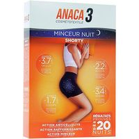 ANACA 3 Shorty Minceur Nuit Taille S/M
