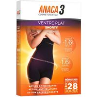 ANACA 3 Ventre Plat Shorty Taille S/M