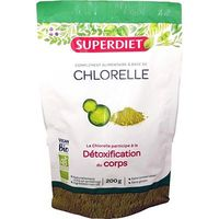 SUPER DIET Chlorelle Bio Vegan 200g