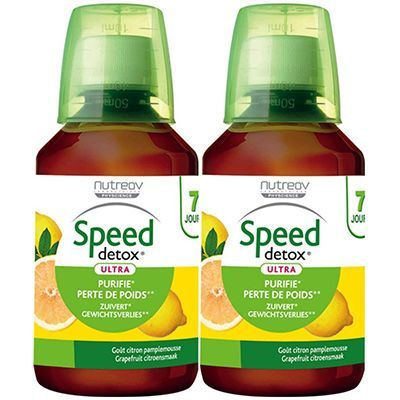 NUTREOV Speed Detox Citron-Pamplemousse 2x280ml