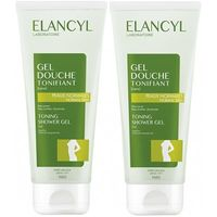 ELANCYL Gel Douche Tonifiant Lot de 2 x 200ml