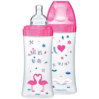 DODIE Biberon Sensation+ Fuchsia Cygnes Lot de 2 x 330ml