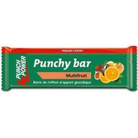 PUNCH POWER Barre Energétique Multifruit 30g