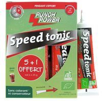 PUNCH POWER Speedtonic Gel Anti Coup de Pompe Cola 6x25g