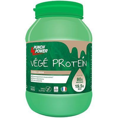 PUNCH POWER Végé Protéin Cookie Crème 900g