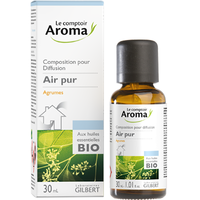 LE COMPTOIR AROMA Air Pur Composition pour diffusion Agrumes 30ml