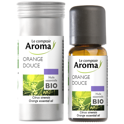 prix de comptoir du pharmacien le comptoir aroma huile essentielle de orange douce 10 ml. Black Bedroom Furniture Sets. Home Design Ideas