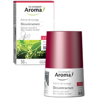 LE COMPTOIR AROMA Roll-on de Massage Décontractant 50ml