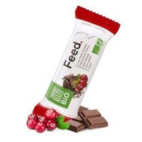 FEED Barre Repas Complet Thierry Marx Bio Cranberries Chocolat 366kcal 100g