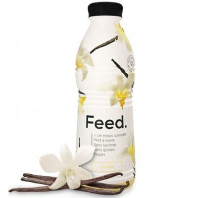 FEED Boisson Repas Complet Vanille 650kcal 750ml Pas Cher