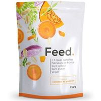 FEED Poudre 5 Repas Complets Carottes et Potiron 650kcal 750g
