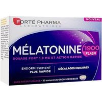 FORTE PHARMA Mélatonine 1900 Flash 30 comprimés