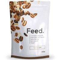 FEED Poudre 5 Repas Complets Café 651kcal 750g