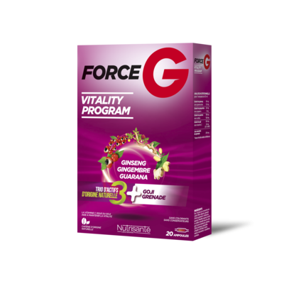 NUTRISANTE Force G Vitality Program 20 ampoules