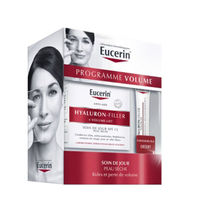 EUCERIN Coffret Volume Hyaluron-Filler + Volume Lift 50ml Peau Sèche