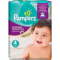 PAMPERS Premium Protection Active Fit 8-16kg Taille 4