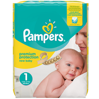 PAMPERS Premium Protection 2-5kg Taille 1