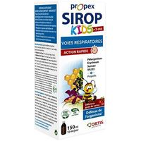 PROPEX Sirop Kids Voies Respiratoires 150ml