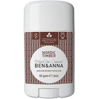 BEN & ANNA Déodorant Stick Nordic Timber 60g