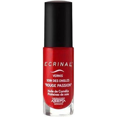ECRINAL Vernis Soin des Ongles Rouge Passion 6ml
