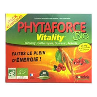 BIOTECHNIE Phytaforce Bio Vitality 40 ampoules