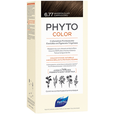 PHYTO Phytocolor 6.77 Marron Clair Cappuccino