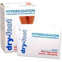 DRY FOOT Hypersudation 12 sachets poudre