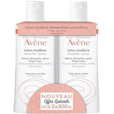 AVENE Lotion Micellaire 2x500ml
