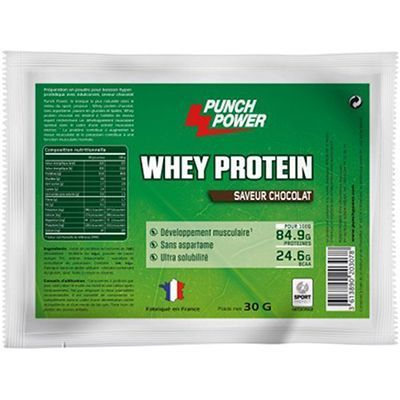 PUNCH POWER Whey protein Chocolat 30g