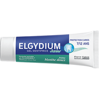 ELGYDIUM Junior Gel Dentifrice 7/12 Ans Menthe Douce 50ml