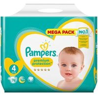 PAMPERS Premium Protection 9-14kg Taille 4 - 78 couches