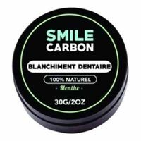 SMILE CARBON Blanchiment Dentaire Menthe 30g