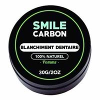 SMILE CARBON Blanchiment Dentaire Pomme 30g