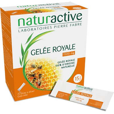 NATURACTIVE Gelée Royale 1500mg 15 sticks
