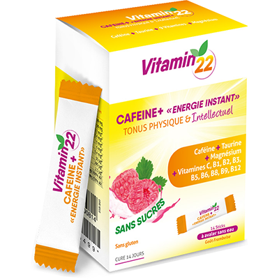 VITAMIN 22 Caféine+ 14 sticks